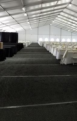 black Carpet Flooring