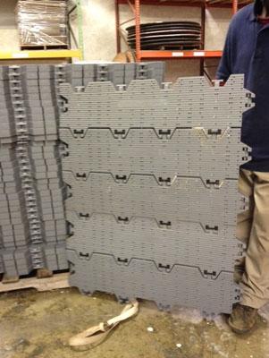 Rola-Trac Flooring Close Up